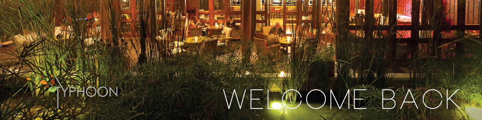 Welcome back! Enjoy a taste of Asia from China Garden and Royal Thai at Typhoon Garden. Best Happy Hour in Town Cocktails & Spirits start at BD 2+++ / 5pm - 7pm