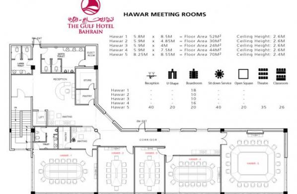 the venues floor plans gulf hotel bahrain floor plan of meeting rooms trend home design and decor